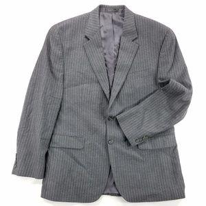 Chaps Pure Wool Sports Coat Suit Blazer Jacket